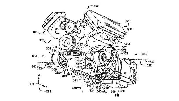 Patent hybrydy Forda