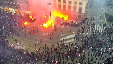 MSWiA opublikowało nagranie zamieszek z Marszu Niepodległości