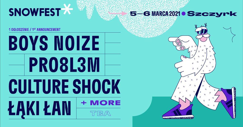 SnowFest 2021 - artyści