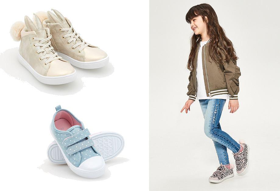 Reserved Kids buty dla modnych dziewczynek i chłopców