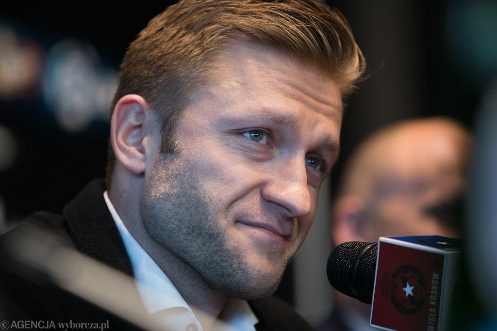 Piłkarz Wisły Kraków Jakub Błaszczykowski