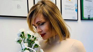 Weronika Marczuk pokazała się w zaawansowanej ciąży. To już ósmy miesiąc. Krągłości podkreśliła obcisłą sukienką