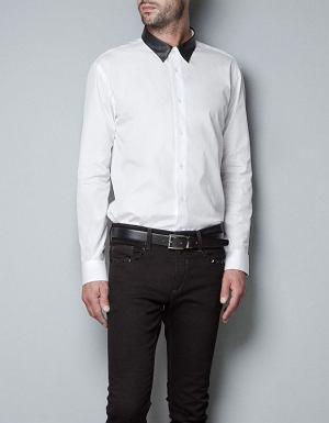 Koszula z kolekcji Zara. Cena: 169 zł, moda męska, koszule męskie, zara