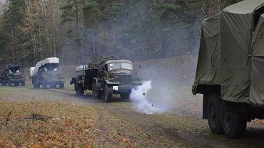 Wyjazd 15. Gołdapskiego Pułku Przeciwlotniczego na ćwiczenia