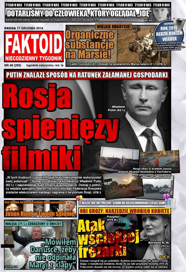 Faktoid, 17 grudnia 2014, nr 46 (200) -  - Faktoid