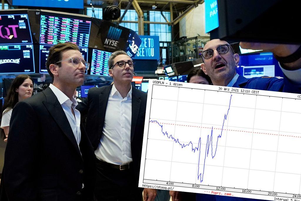 Dolar umacnia się wobec euro. Kurs wobec złotego to ponad 4 zł.