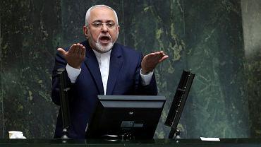 Minister spraw zagranicznych Iranu Muhammad Dżawad Zarif.