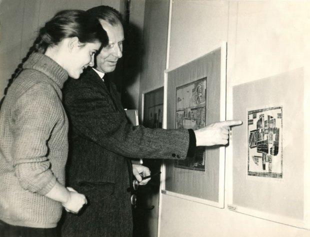 Zuzanna Lipińska z ojcem Erykiem