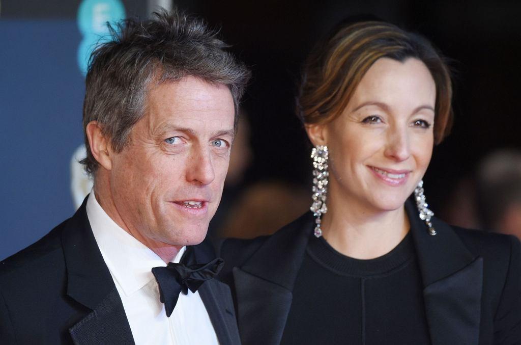 Hugh Grant i Anna Eberstein