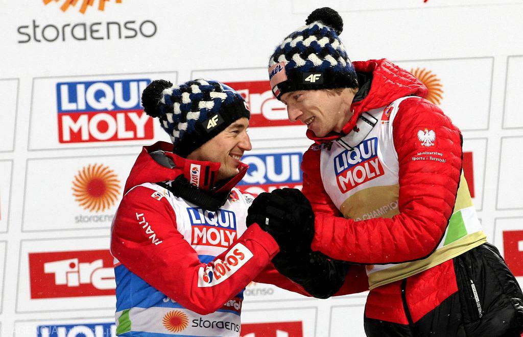 Mistrzostwa świata w Seefeld 2019. Kamil Stoch i Dawid Kubacki