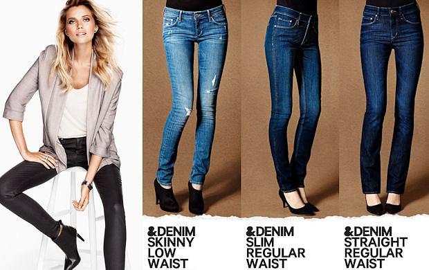 Dżinsy H&M