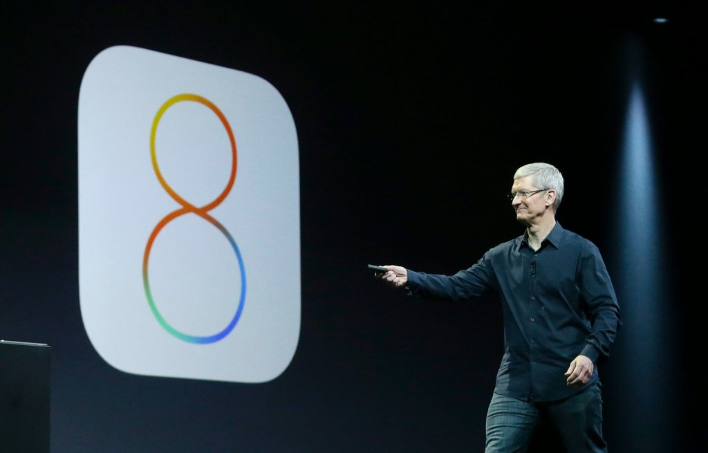 Szef Apple, Tim Cook, zapowiada iOS 8