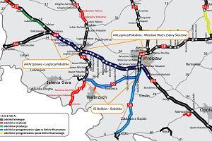Przebudowa tras A4 i S5. Drogowcy ogłosili przetarg na prace przygotowawcze