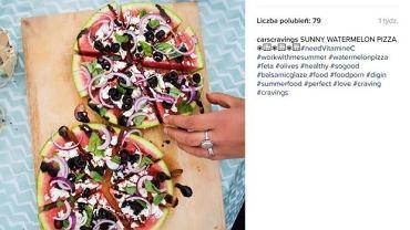 Pizza z arbuza hitem Instagrama. To idealny deser na lato!