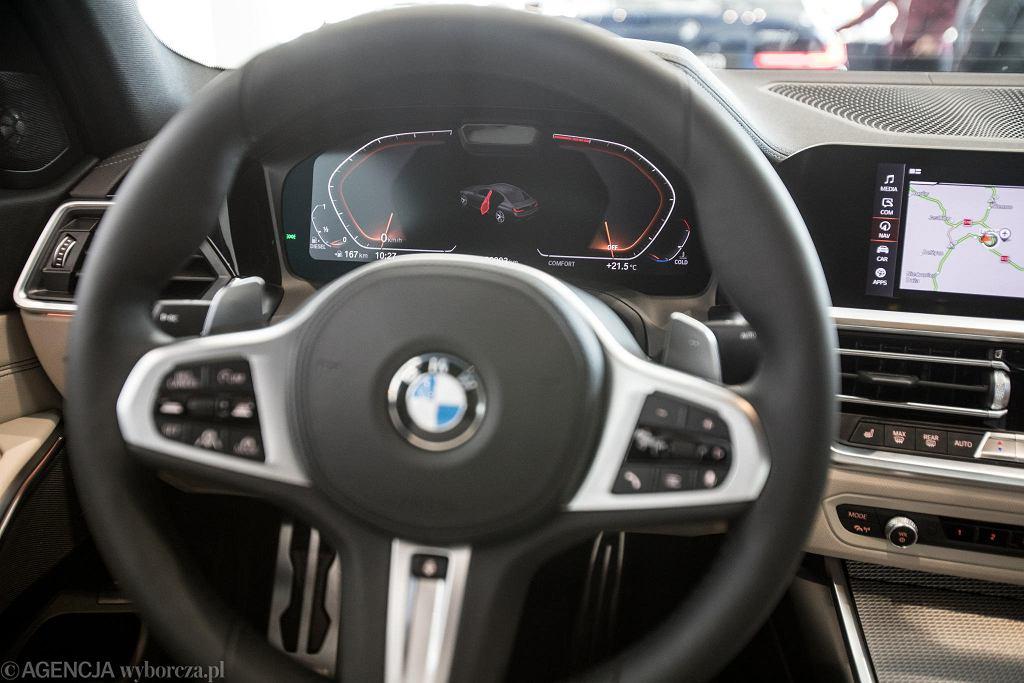 Prezentacja nowego modelu BMW serii 3 w lubelskim salonie koncernu