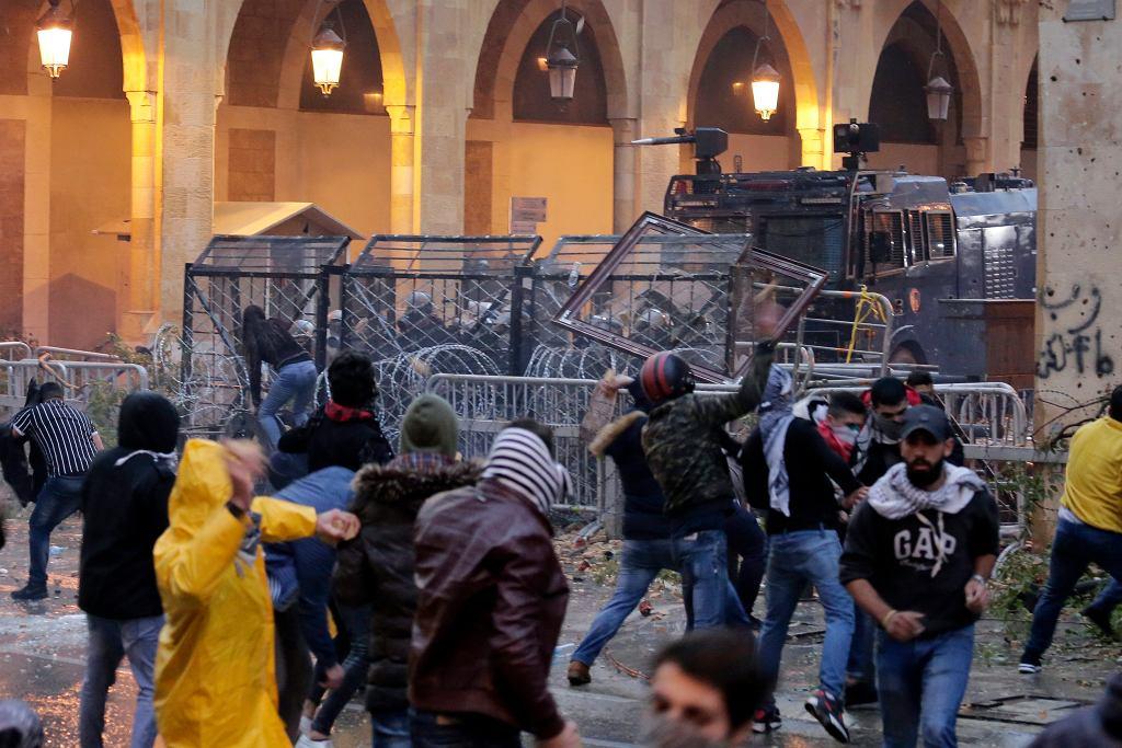 Zamieszki w Bejrucie, 18.01.2020