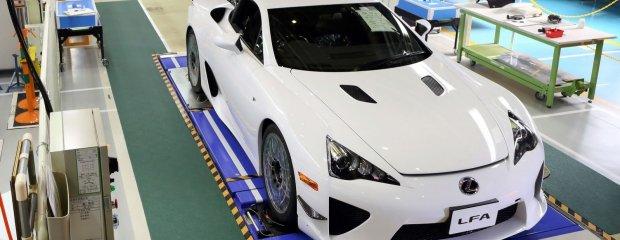 Ostatni Lexus LFA   Galeria