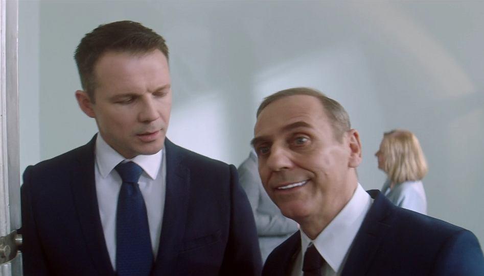 'Ucho prezesa' 2 sezon, 22. odcinek, 'Gdzie jest lider?'