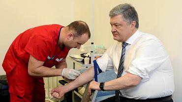 Wybory prezydenckie na Ukrainie. N/Z  Petro Poroshenko