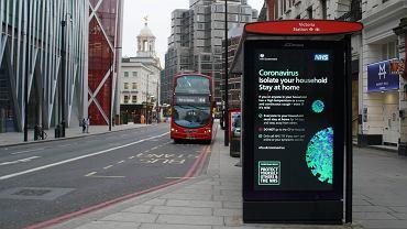 Wielka Brytania - nowy wariant wirusa