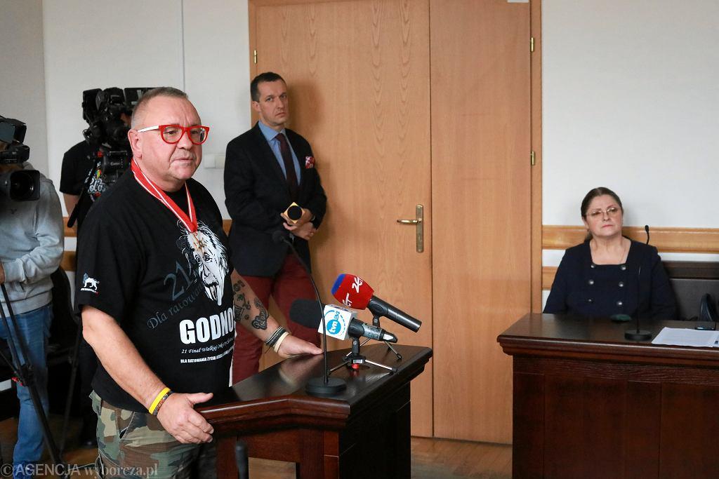 Jerzy Owsiak i Krystyna Pawłowicz
