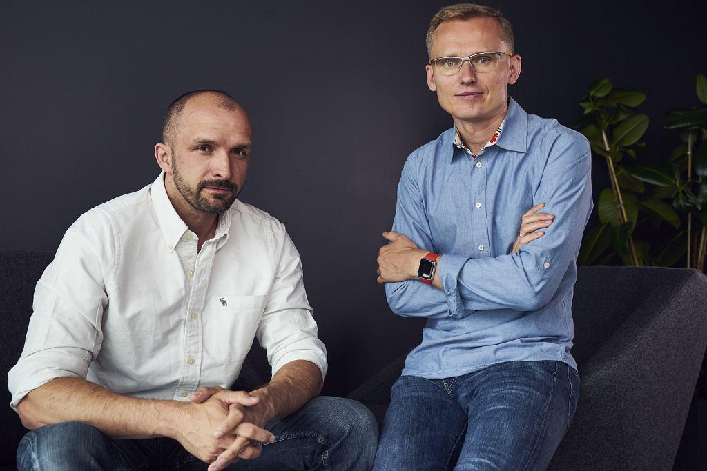 Konrad Howard i Stefan Batory - twórcy startupu Booksy