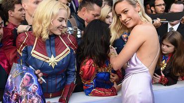 Avengers: Koniec Gry - premiera w Los Angeles. Na zdjęciu Brie Larson