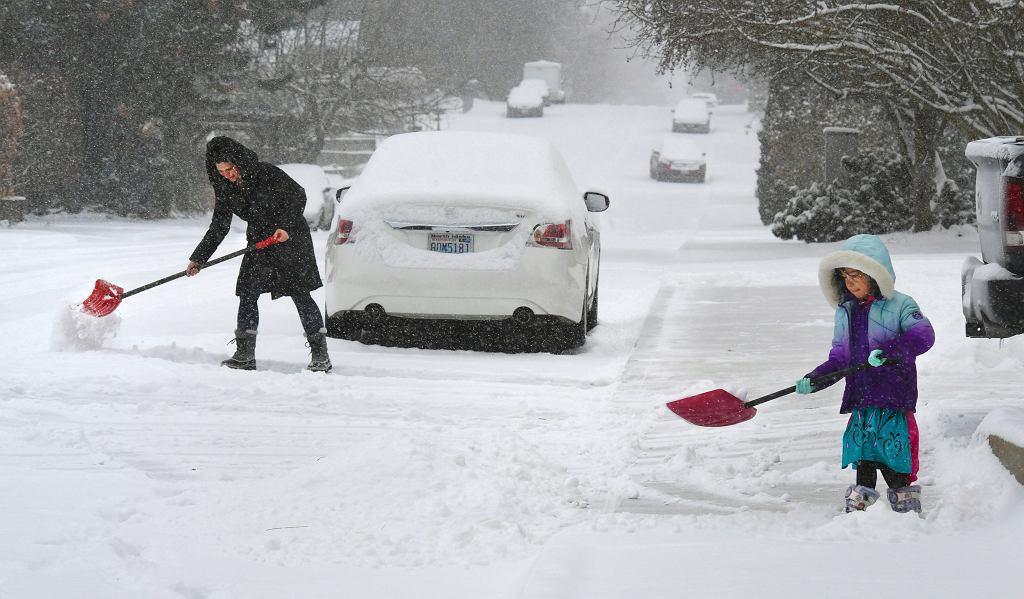 Mróz w USA. Na termometrach nawet -42 stopnie, Teksas pod śniegiem