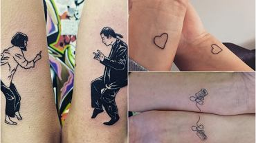 11 wzorów na tatuaże dla najlepszych przyjaciół