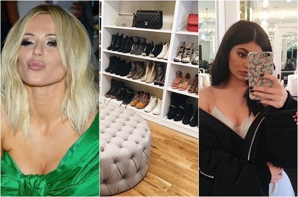 Ogromna i pojemna garderoba to marzenie nie tylko blogerek modowych, ale po prostu większości kobiet. Zobaczcie, jak gwiazdy urządziły swoje