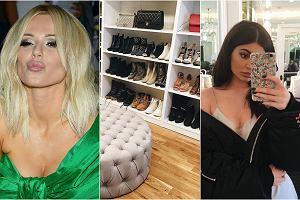 Ogromna i pojemna garderoba to marzenie nie tylko blogerek modowych, ale po prostu większości kobiet. Zobaczcie, jak gwiazdy urządziły swoje pokoje na ubrania. Najbardziej zaskoczyła nas garderoba Kylie Jenner.