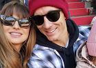 Anna i Robert Lewandowscy oglądali mecz z Klarą. Fani: Uśmiech chyba po tatku. Zdjęcie skomentowała także mama piłkarza