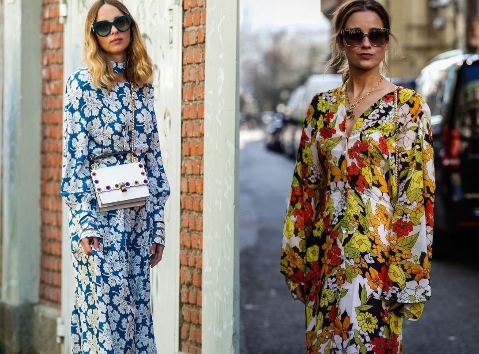 Najmodniejsze sukienki na wiosnę - modele w kwiaty