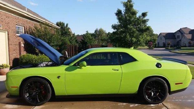 Dodge Challenger Hellcat na aukcji Craiglist