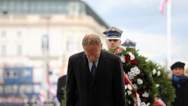 Donald Tusk w czasie Świeta Niepodległości 11 listopada