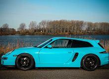 Porsche Boxster Shooting Brake - może to dobrze, że to nie seryjny model
