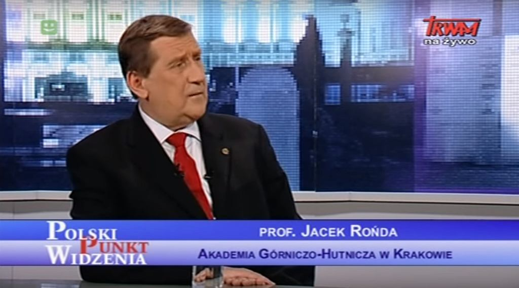 Jacek Rońda w TV Trwam, 2013 r.