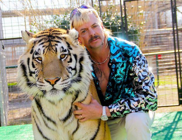'Król Tygrysów', kadr z serialu. Na zdjęciu Joe Exotic
