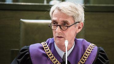 Ponad 60 sędziów Sądu Najwyższego podpisało się pod oświadczeniem w sprawie wniosku Prokuratury Krajowej. Na zdjęciu sędzia Michał Laskowski