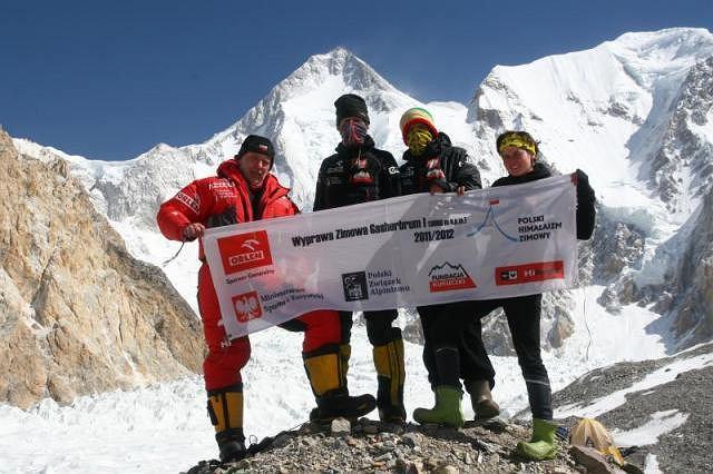 Polska zimowa wyprawa na Gasherbrum I