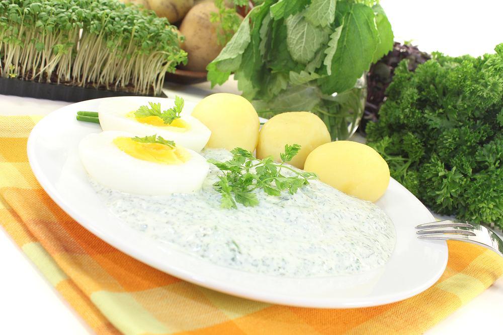 Zielony sos frankfurcki