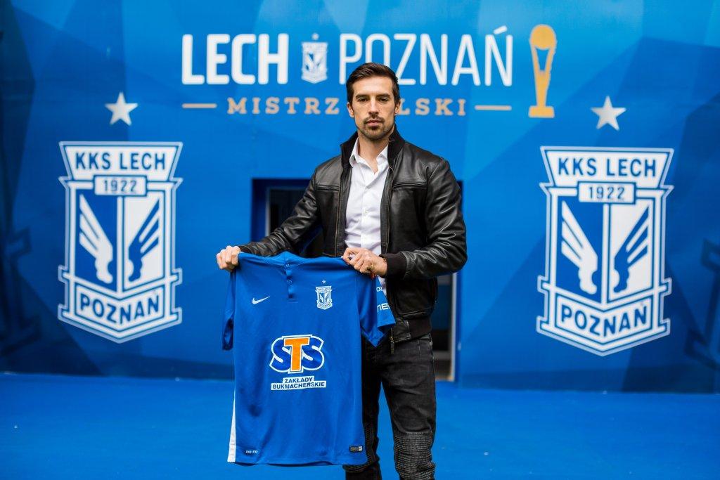 Vladimir Volkov piłkarzem Lecha Poznań