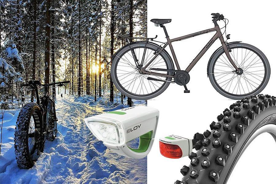 Jak przygotować rower na zimowe wycieczki?