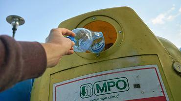 Segregacja śmieci w Warszawie