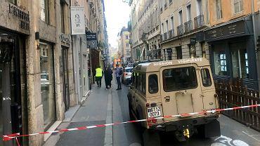 Francja. Wybuch w Lyonie