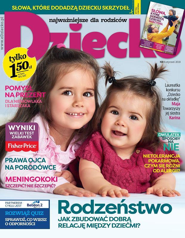 """Nowy numer miesięcznika """"Dziecko"""" w kioskach od 5 grudnia"""