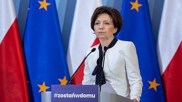 Marlena Maląg, ministra rodziny, pracy i polityki społecznej
