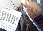 Mama trojaczków chciała ściągnąć pokarm podczas lotu. Wszystko opisała na Facebooku i zdobyła 50 tys. like'ów