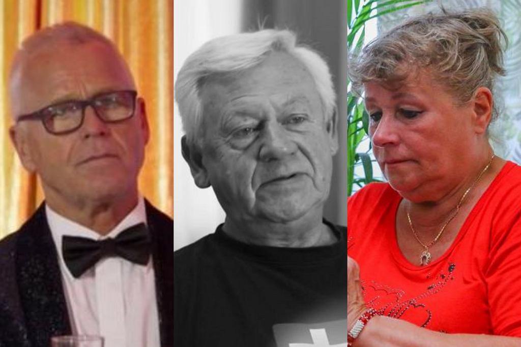 Andrzej, Władysław i Halina z 'Sanatorium miłości'
