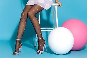 Trend alert - modne rajstopy w kropki od marki Gabriella. Zobacz jak stworzyć zachwycającą stylizację